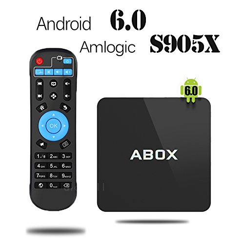 2017 Model Globmall Android 6.0 TV Box, ABOX Android TV Box