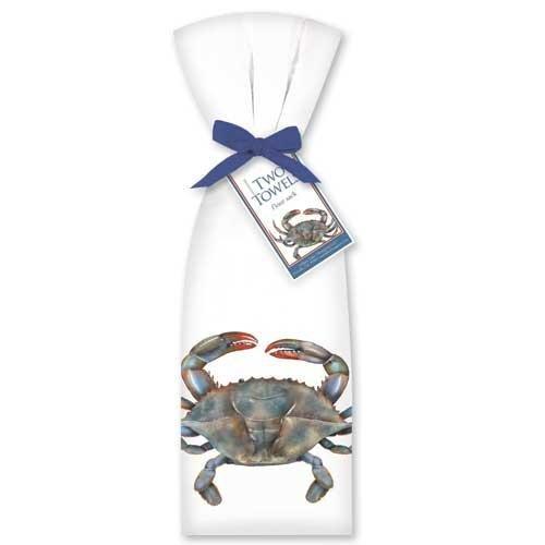 Blue-Crab-Towel-Set