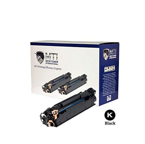 MICR Toner International Compatible Toner Cartridge HP CE278A ( Black , 2-Pack ) by MICR Toner International