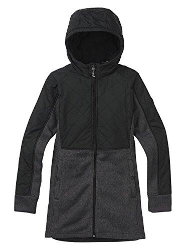 - Burton Women's Embry Fleece Sweater, True Black Heather, X-Small