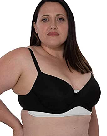 Chaffree Anti Chafing Sweat Control Bra Liner Band Small (up to C Cup) 1 Pack Arctic White