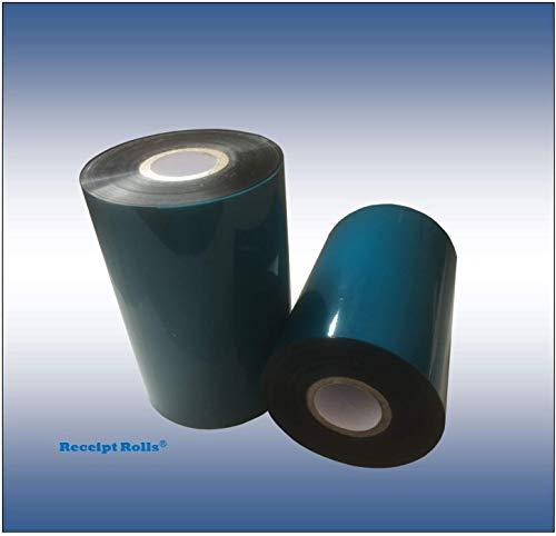 (4.33'' x 2051' (110mm x 625m) Thermal Transfer Ribbons (12) Resin Enhanced Wax for Printronix)