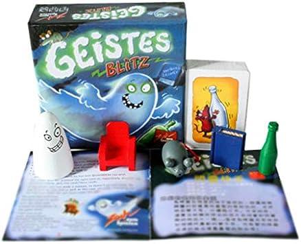 JICHUI Juego de Mesa Geistes Blitz Juego de Mesa Juego Amigos Fiesta de la Familia: Amazon.es: Juguetes y juegos