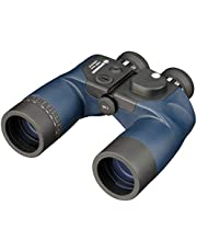 Bresser Topas Verrekijker 7x50 WP met ingebouwd kompas in het gezichtsveld en waterdichte, schokbestendige behuizing inclusief zwemgordel en tas