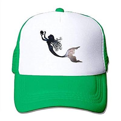 Galaxy Be A Mermaid Mesh Female Funny Trucker Baseball Hat 000063