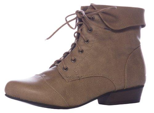 Breckelles Indy-11 Bootie Boots,9 B(M) US,Indy Beige