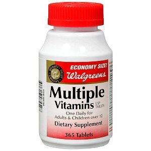 Walgreens Gold Seal Multiple Vitamins Dietary Supplement Tablets 365 ea by AB