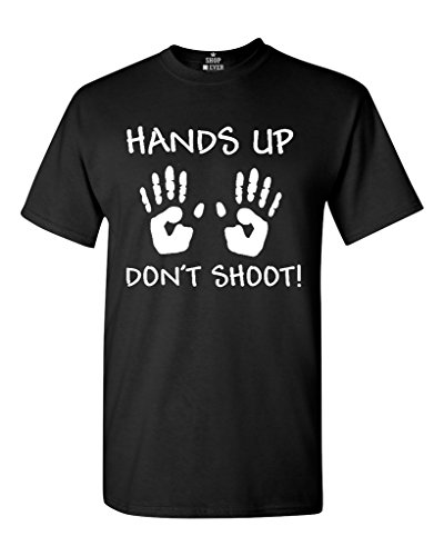 Shop4Ever Hands Up Don't Shoot T-shirt Michael Brown Shirts