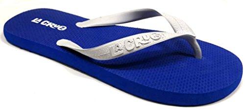 Hombre Royal Cruz Azul LA para Caucho de Sandalias 4xRqC