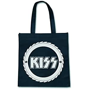 Borsa Shopping Kiss Logo (Eco Total Bag Nera)