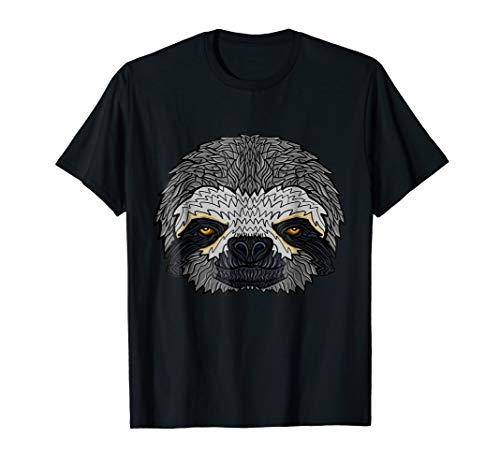 Sleepy Sloth Face T-shirt