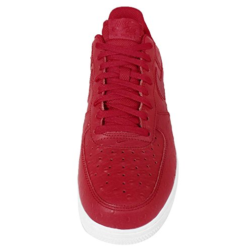 Nike Air Force 1 '07 Lv8 - Zapatillas de baloncesto Hombre Rojo / Blanco (Gym Red / Gym Red-White)