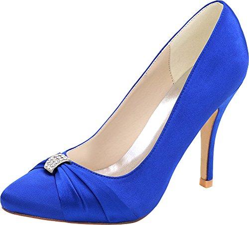 5 36 Find Femme Compensées Nice Sandales Bleu Bleu qqS10aZ