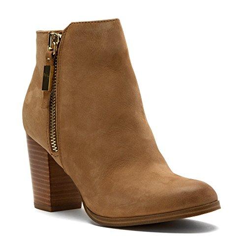 Aldo Women's Mathia Ankle Bootie, Medium Brown, 7.5 B US
