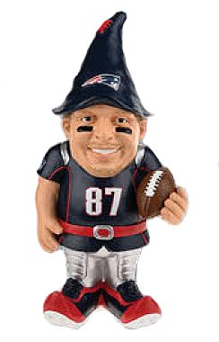 - New England Patriots Gronkowski R. #87 Resin Player Gnome