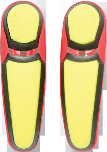 - Alpinestars S-MX 5 Boots Toe Sliders - Yellow/Red