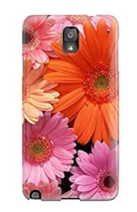 High Quality Caronnie Colored Daisies Skin Case Cover Specially Designed For Galaxy - Note 3