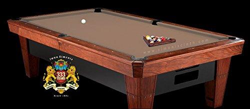8' Simonis 860 Mocha Pool Table Cloth Felt