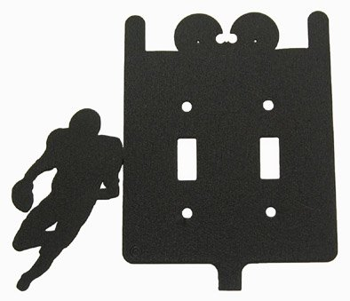 Football Switchplate Cover (Football Double Light Switch Plate Cover)