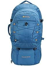 Mountain Warehouse Traveller 60 + 20L Rucksack - Detachable Daypack, Durable Daysack, Rain Cover