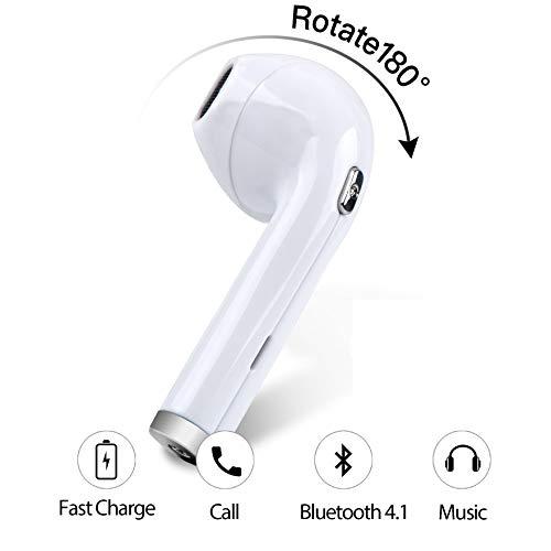 Bluetooth Wireless Earbud, Ailbton Bluetooth Headphone Stere