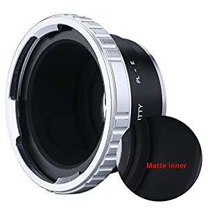 GUTTY Lens Mount Adapter Compatible with Arri PL Lenses to Sony E-Mount Cameras (Color: PL-E, Tamaño: PL-E)