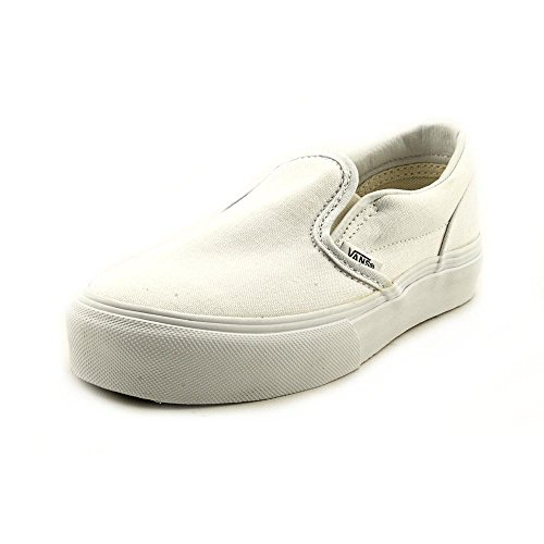 Vans Youth Classic Slip-On Core, White-12.5 Youth -