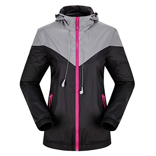 homaok-mens-womens-outdoor-lightweight-jacket-with-washable-earphone-small-black