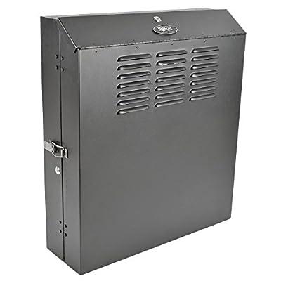 "TRIPP LITE 2U Wall Mount Low Profile Secure Rack Enclosure Server Cabinet, Vertical Mount, 20"" Deep SRW2U"