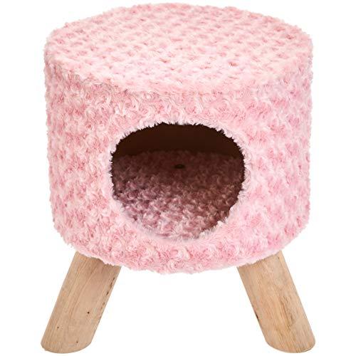 AmazonBasics Cat Condo Ottoman, Pink