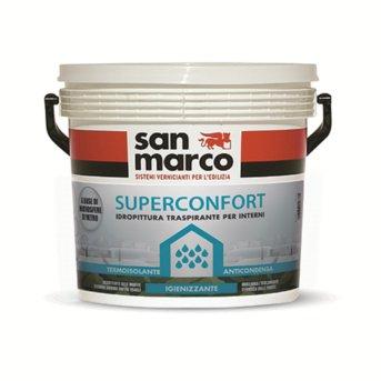 Pitture Termiche Per Interni.San Marco Superconfort Pittura Per Interni Anticondensa