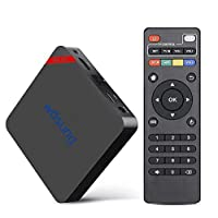 TV BOX Android 6.0 T95N WOSUNG Mini PC 2017 Latest Version Mini MX+Amlogic S905x Quad-core cortex-A53 Support 2.4GHZ Wifi Streaming Media Player (1GB+8GB)