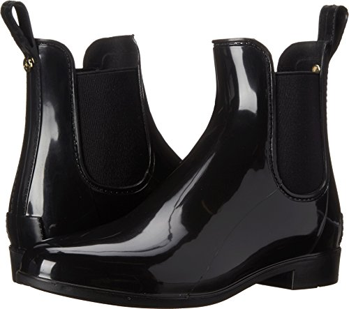 - Sam Edelman Women's Tinsley Rain Boot, Black Polished, 9 M US
