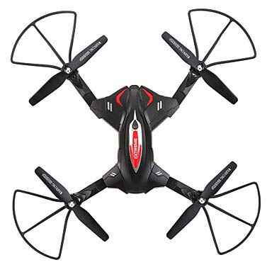 ABB India Solutions & Services RC Drone TK110 RTF 4CH 6 Axis 2.4G with HD Camera 0.3MP 480P Quadcopter FPV/LED Lights