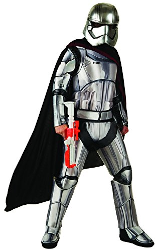Star Wars: The Force Awakens Deluxe Adult Captain Phasma Costume, Multi, X-Large (Group Costume Ideas)