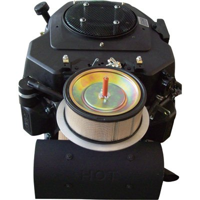 V-twin Vertical Shaft (Kohler Command PRO OHV V-Twin Vertical Engine with Electric Start - 674cc, 1 1/8in. Dia. x 3 5/32in.L Shaft, Model# PA-CV680-3049)