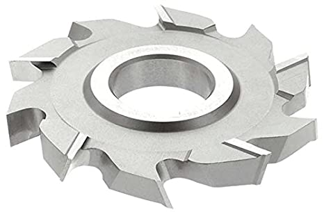 HSS 18 Teeth 5//8 Width 1-1//4 Arbor Hole KEO Milling 00651 Staggered Tooth Milling Cutter,S Style Standard Cut TiN Coating 3-1//2 Cutting Diameter