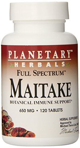 - Planetary Herbals Maitake Full Spectrum 650mg, Botanical Immune Support