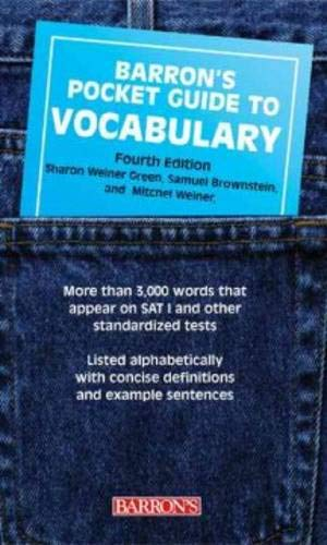 Barron's Pocket Guide to Vocabulary (Barron's Pocket Guides)