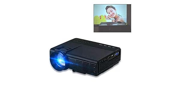 GJZhuan Mini Proyector Q5, con Pantalla Grande LED Full HD ...