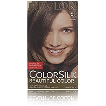 rev colorsilk 5n ltbrn size 1ct revlon colorsilk 5n - Coloration Revlon