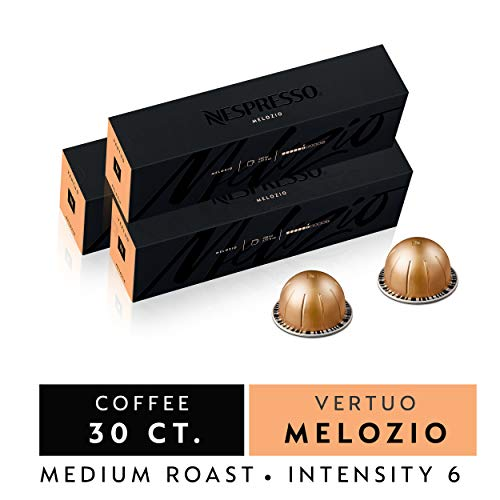 Nespresso VertuoLine Capsules, Melozio Nespresso Pods, 7.8 OZ Nespresso Coffee
