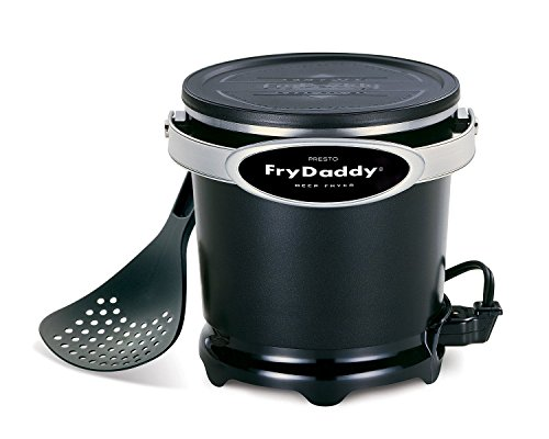 NEW! Presto 05420 FryDaddy Electric Deep Fryer with Handy Lift-and-Drain Scoop