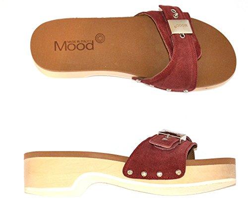 pour Femme MOOD Bordeaux Mules MOOD Mules tqwRY04W