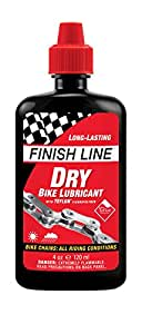 Finish Line DRY Teflon Bicycle Chain Lube, 12-Ounce Aerosol Spray