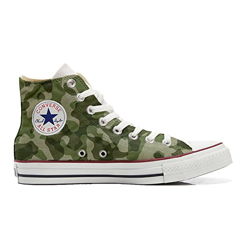 Converse Zapatos Personalizados All Producto Handmade Star Producto Mimetiche Handmade x7On7w