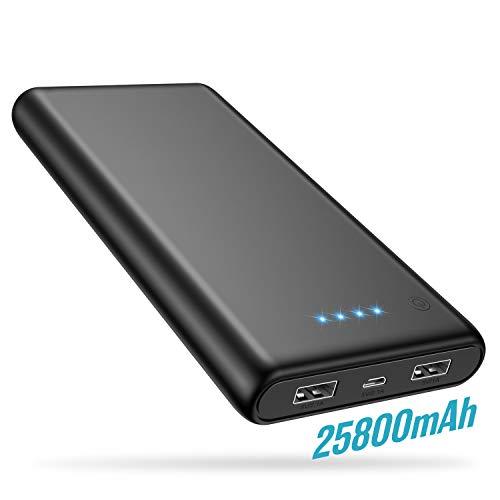 Trswyop-Batterie-Externe-25800mAh-Power-BankPeut-Prendre-lavion-Ultra-Haute-Capacit-Portable-Chargeur-Batterie-de-Secours-2-Ports-de-Sortie-USB-Compatible-avec-iPhone-Huawei-et-Tablette