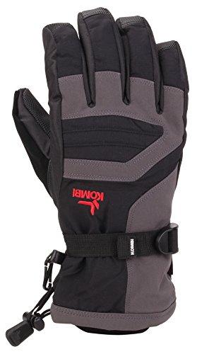 Kombi Unisex Storm Cuff III Jr, BLK Gunmetal, L (Kombi Winter Gloves)