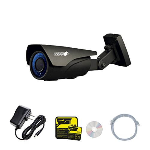 LOGAN IP Bullet Camera HD Motorized Lens 2MP 1080P 5x