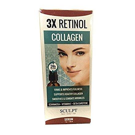 3X Retinol Collagen Serum 24 Hour Action (Retinol Serum 3x)